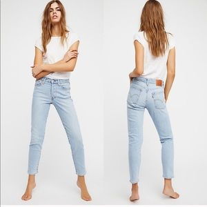 Free People Levi's Wedgie Fit High Rise Jean
